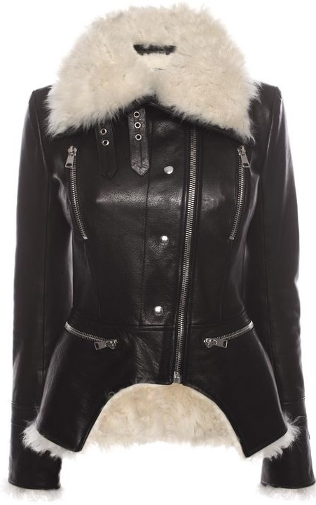 Leather Jacket from Alexander McQueen