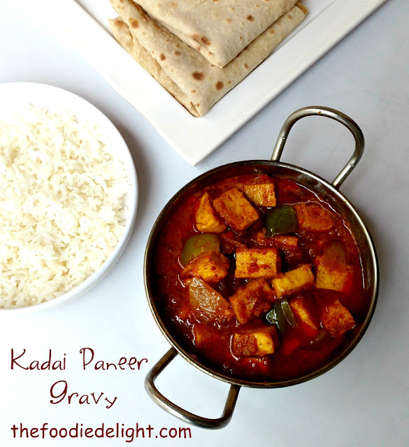 how-to-make-kadai-paneer-gravy-recipe