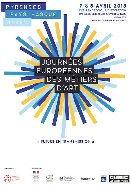 Les Journées européennes des Métiers d'art Pyrénées 2018
