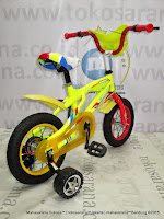 Sepeda Anak Exotic ET12-9802 Sport BMX 12 Inci