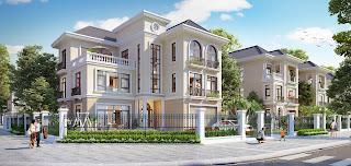 hạ tầng hoành tráng của Dự án Golden Palace A