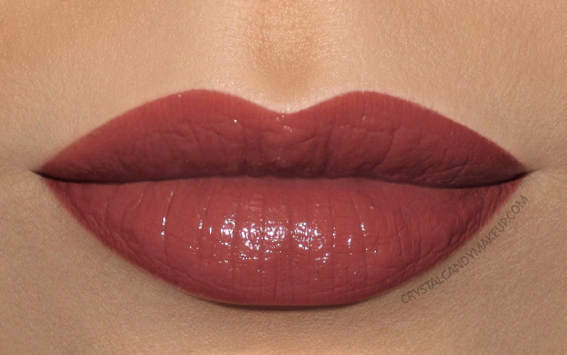 MAC Liptensity Lipstick Swatch Brick Dust