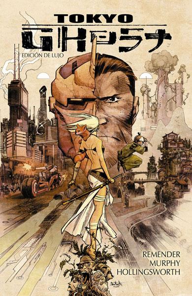 """Reseña de """"Tokyo Ghost"""" de Rick Remender y Sean Murphy - Norma Editorial"""