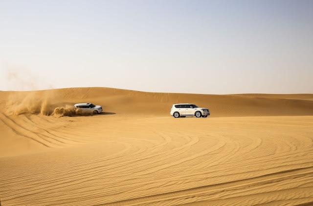 The Sahara Desert off road