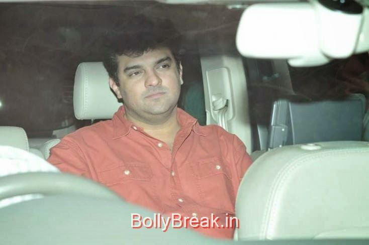Siddharth Roy Kapur, Kiran Rao, Mini Mathur Sidharth Malhotra and Gari Khan at Ranbir Kapoor's Party