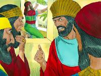 Тогава те казаха пред царя: Онзи Даниил, който е от пленените юдеи, не зачита нито тебе, царю, нито подписаната от тебе забрана, а принася молбата си три пъти на ден.