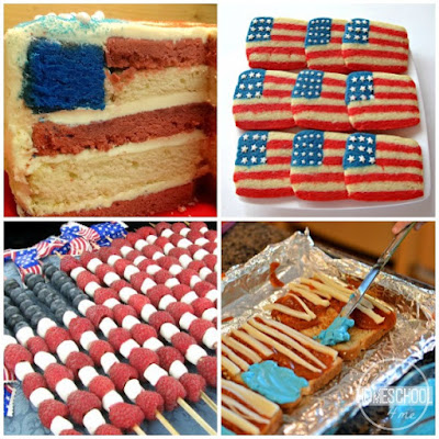 flag day snack for kids