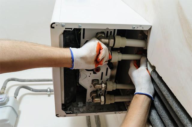 cambiar caldera condensación AMT Montajes Técnicos Zaragoza