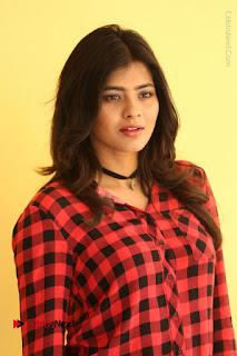 Actress Hebah Patel Stills in Blue Denim Jeans at Nanna Nenu Naa Boyfriends Movie Success Meet  0013.JPG