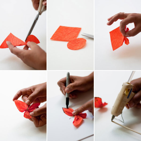 Post It Origami Butterfly