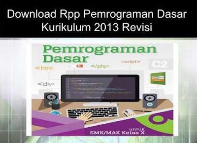 Download Rpp Pemrograman Dasar Materi Menerapkan Alur Pemrograman dengan Struktur Bahasa Komputer