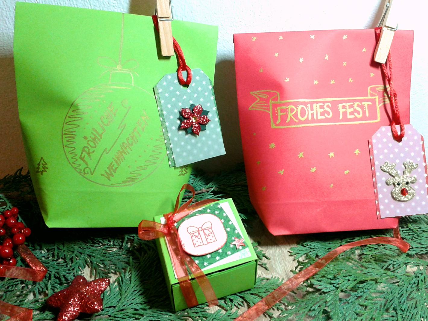 diy geschenke einpacken t te und schachtel selber machen perlenkuchen. Black Bedroom Furniture Sets. Home Design Ideas
