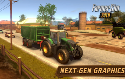Mod Farmer Sim 2018 Apk Terbaru Gratis