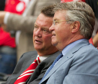 Hiddink dan Van Gaal
