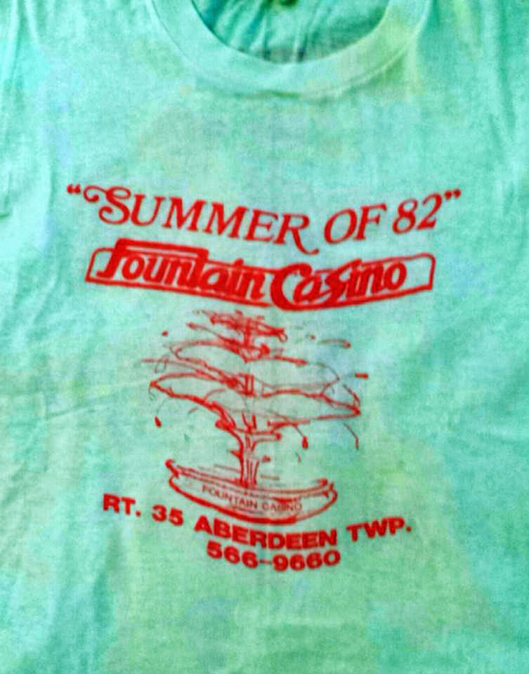 The Fountain Casino t-shirt