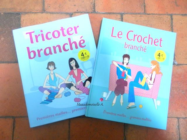 Livres Tricoter branché et Le Crochet branché
