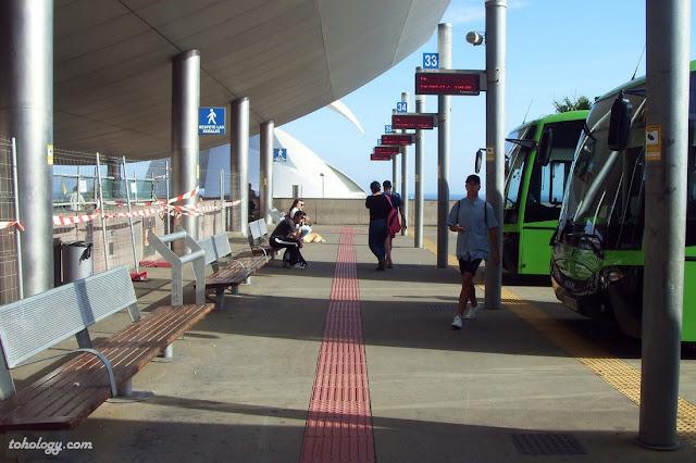 Автовокзал в Санта-Круз-де-Тенерифе