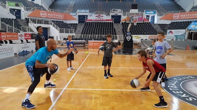 Στη… μεγάλη σάλα του PAOK Sports Arena η δεύτερη μέρα του Βasket Αventures που διεξάγεται σε συνεργασία με τους Orlando Magic-Φωτορεπορτάζ
