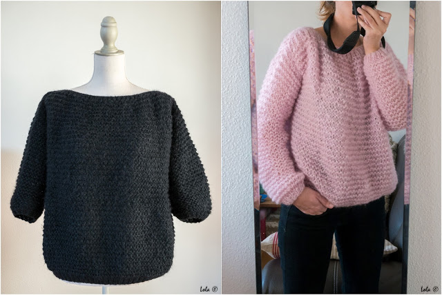 Mes Favoris Tricot Crochet Modele Tricot Gratuit Le Pull Oversize Didi Catcat
