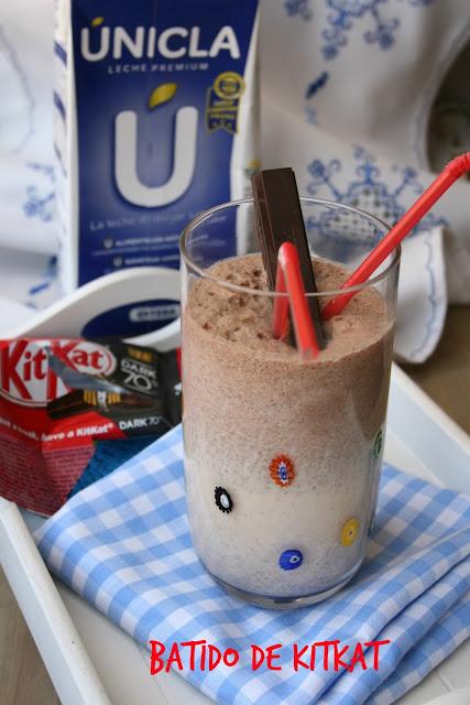 Batido de KitKat