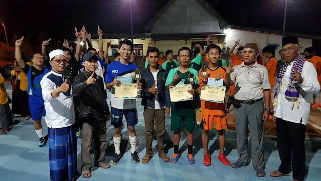 Desa Terate Juarai Competition Futsal PBL Unsri Cup 2018