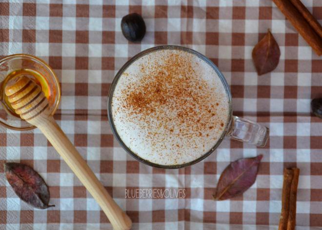 Café latte de calabaza y especias 2