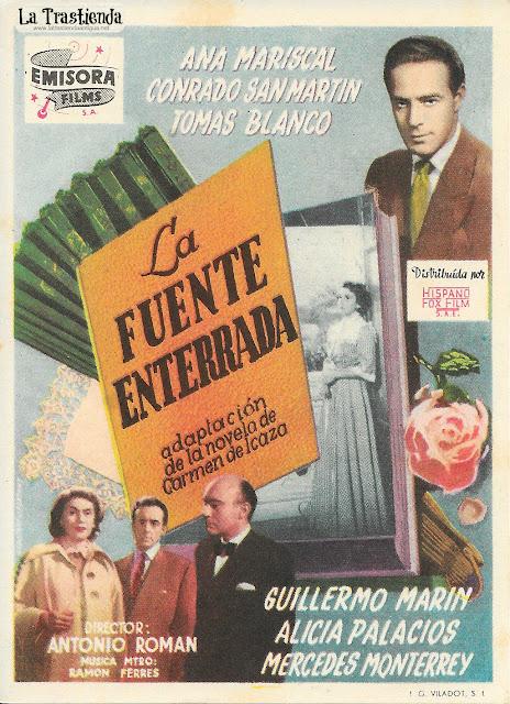 La Fuente Enterrada - Programa de Cine - Ana Mariscal - Conrado San Martín