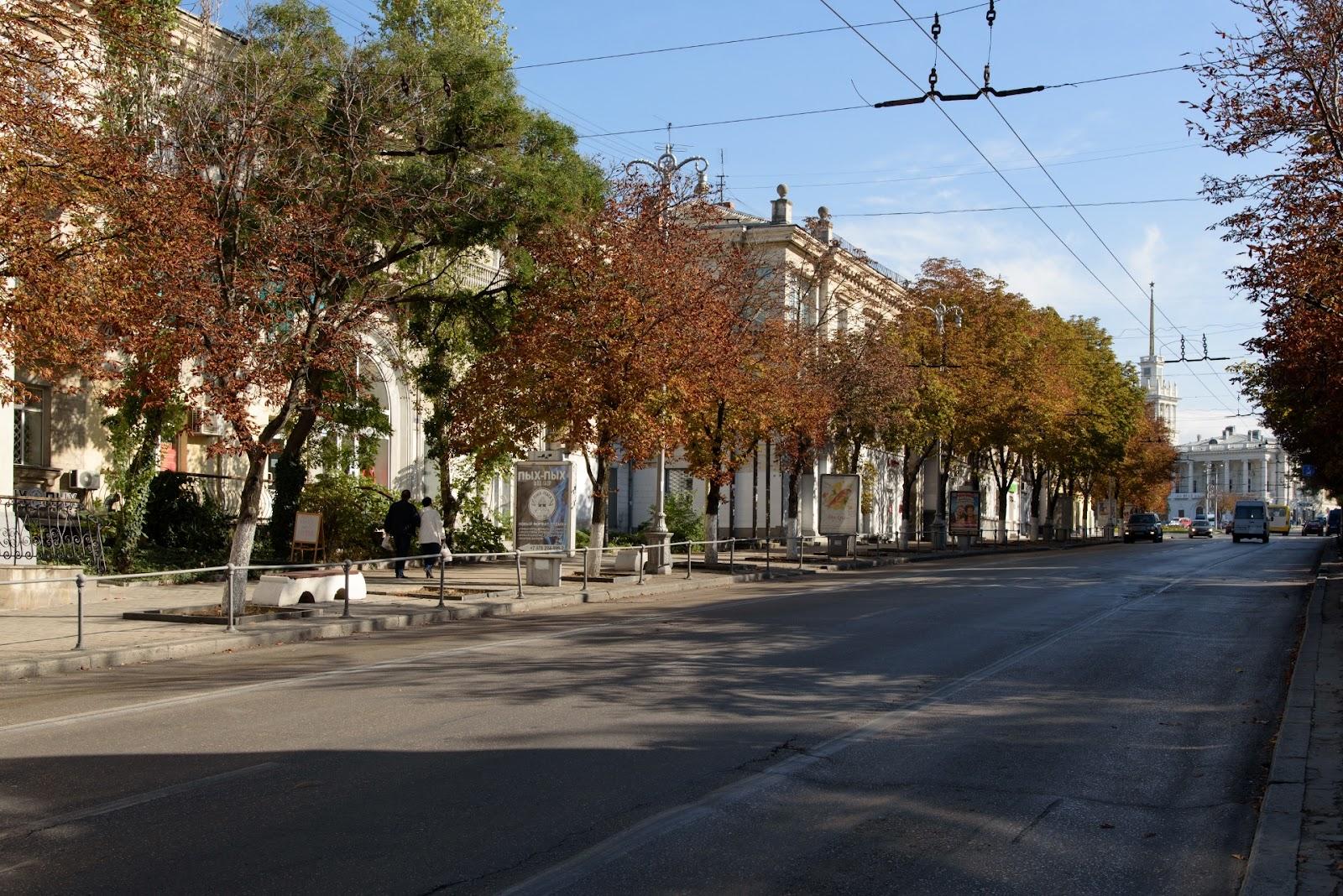 Севастополь. Октябрь