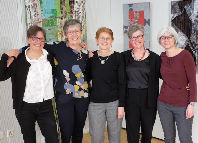 Luna Lovequilts - Groupe Art-Tex - Art textile et patchwork contemporain - 5 artistes de Suisse romande