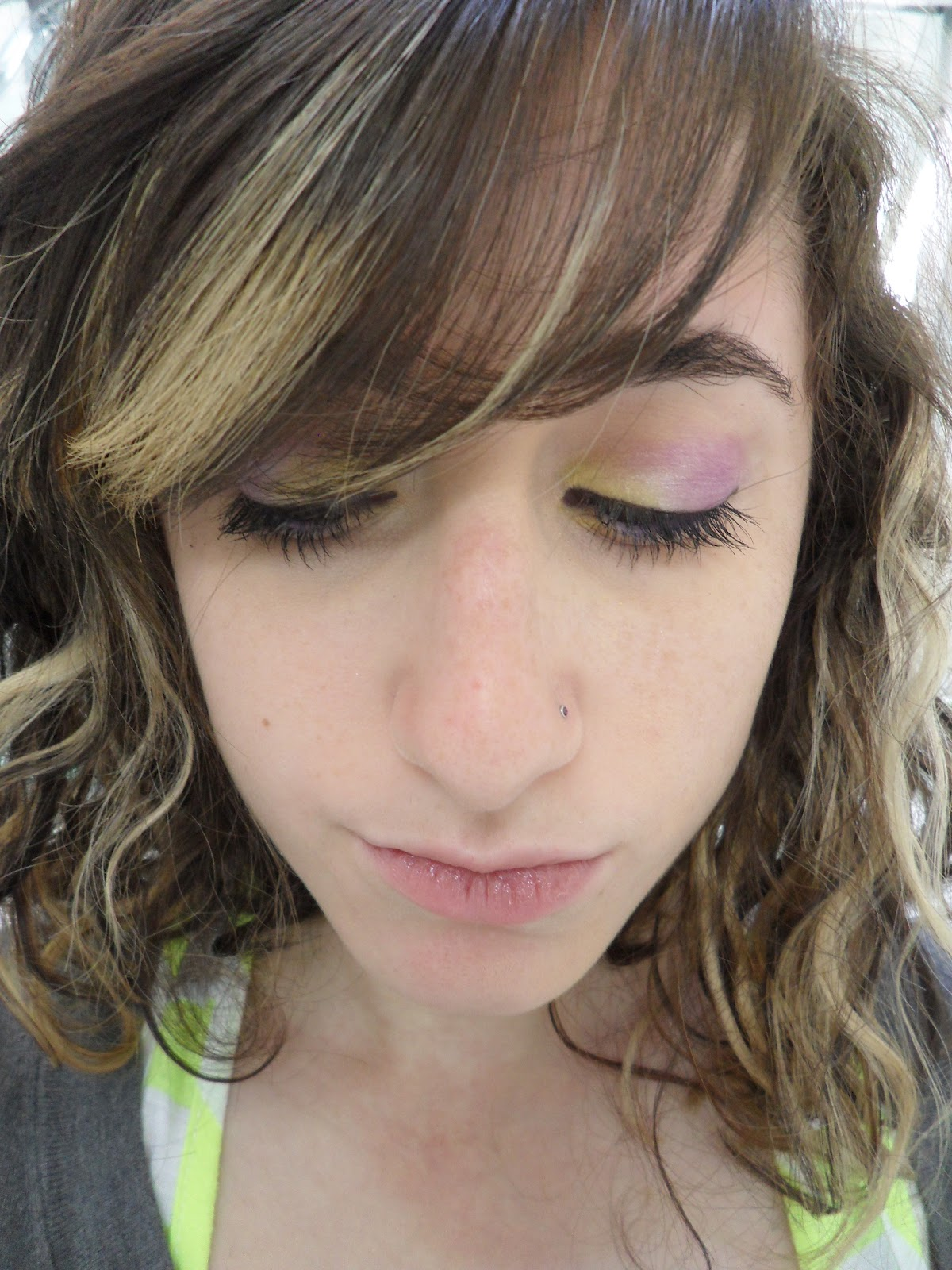 Bright Eyed Beauty Blog Review And Swatches Lime Crime: Claws Up!: Make Up Looks: Bright Eyed
