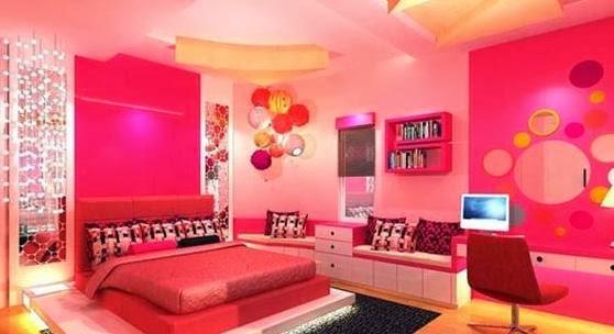 Cuartos juveniles color rosa dormitorios colores y estilos - Dormitorios juveniles modernos de diseno ...