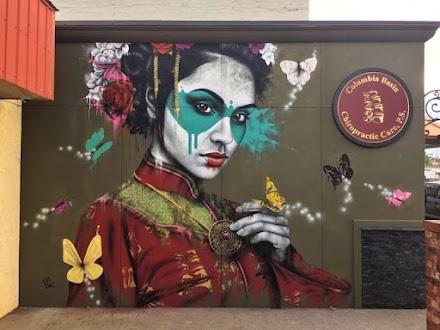 Yuijou Mural vom Urban Aesthetics Künstler Fin DAC | Streetart