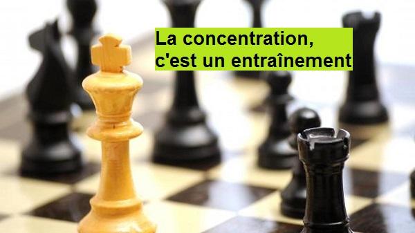 Comment apprendre à se concentrer grâce aux échecs ?
