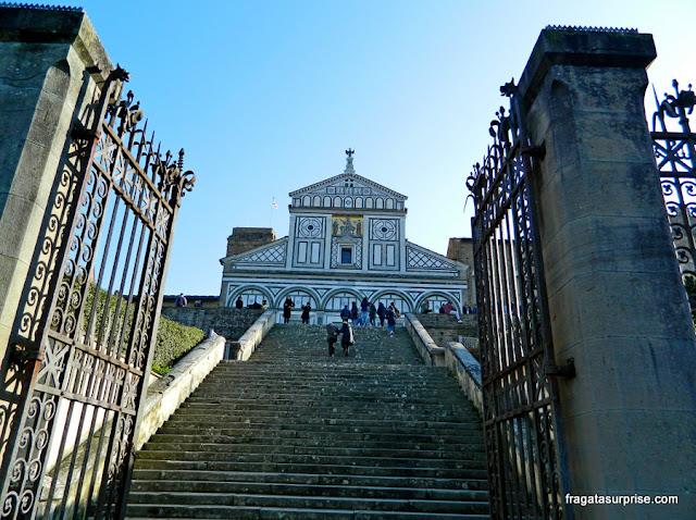 Florença - Igreja de San Miniato al Monte