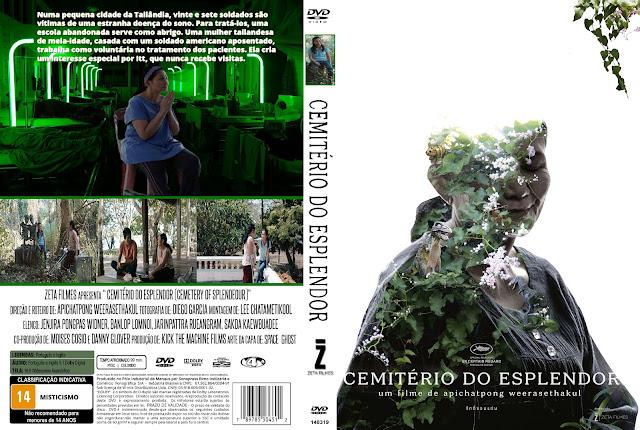 Capa DVD Cemitério Do Esplendor