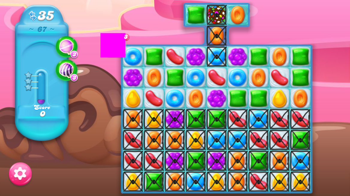 Candy Crush Jelly Saga 67