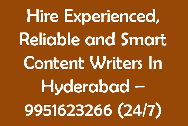 Content Developers Hyderabad