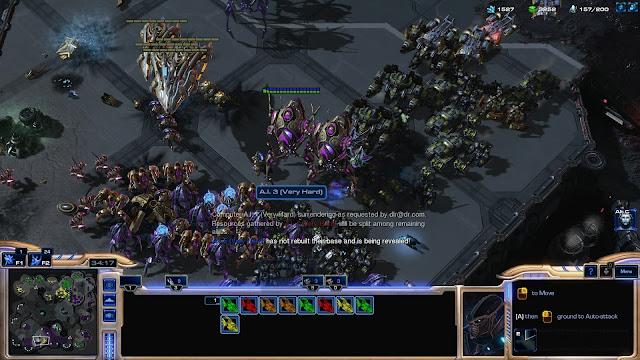 StarCraft 2 | 3 vs 3 Army Gathering