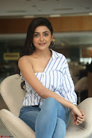 Avantika Mishra in One Shoulder Crop Top and Denim Jeggings ~  Exclusive 043.JPG