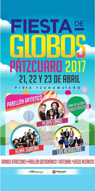 Pabellón Artístico de la Fiesta de Globos en Pátzcuaro