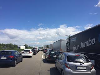 Ostern werden viele Staus auf den Autobahnen erwartet