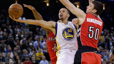 NBA : Warriors Make Northern Trip to Face Toronto Raptors