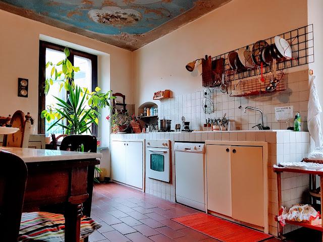 quadrilocale bergamo piazza pontida cucina pranzo