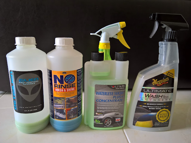 Waterless Wash Products