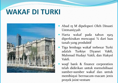 sejarah wakaf di Turki