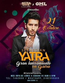 Sebastián Yatra Gran Lanzamiento en GAIRA CAFÉ 2017