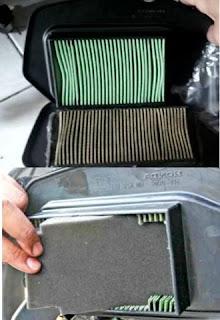 Tips hemat ganti saringan udara vario dengan grand