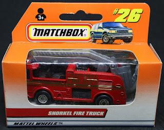 MatchBox - 26 Snorkel Fire Truck