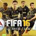 تحميل لعبة كرة القدم فيفا 16 FIFA 16 Ultimate Team اخر اصدار ( ميديا فاير - ميجا )