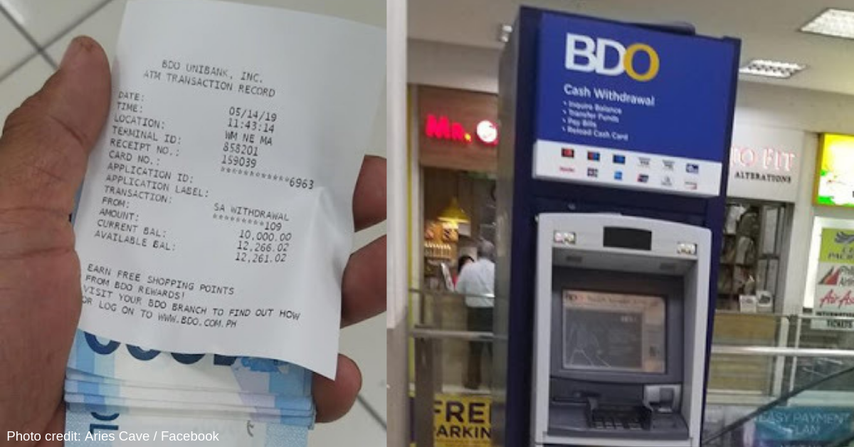 Guy Goes Viral for Returning Php10k